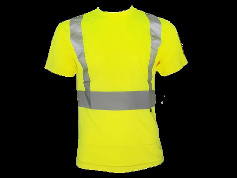 T-paita heijastimilla, keltainen
