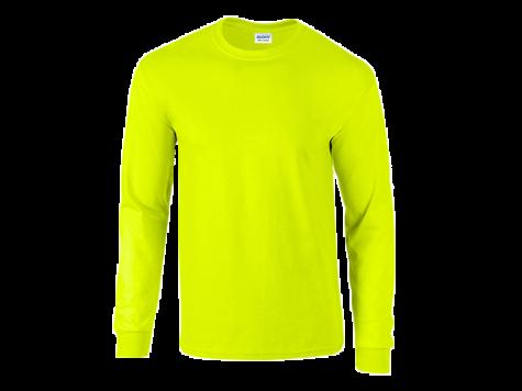 Pitkähihainen paita, keltainen