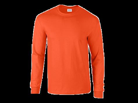 Pitkähihainen paita, oranssi
