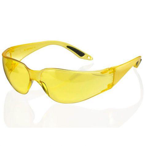 Suojalasi, keltainen